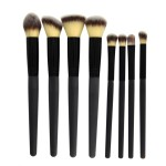 8 PCS Thermal Induction Makeup Brush Set