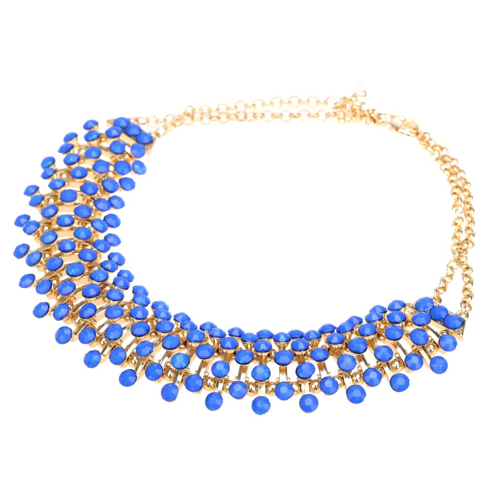 Bohemian Style Elegant Pendant Clavicle Chain Choker Necklace Collar Jewelry Accessory for Women Girls