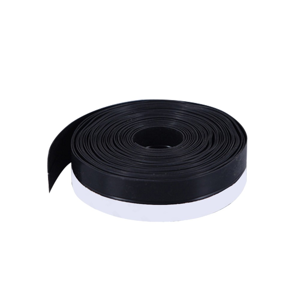 Door and Window Seals Door Bottom Windproof Insect-proof Window Insulation Adhesive Tape Black&25mm