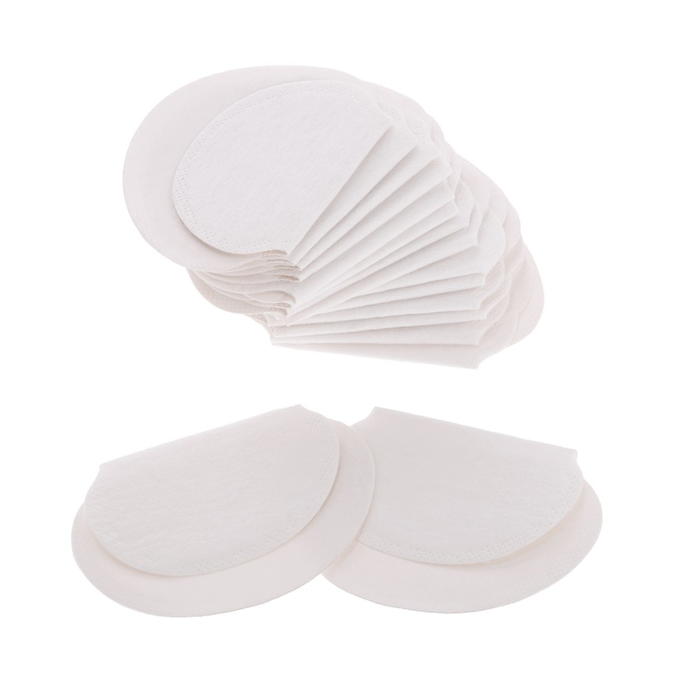 100pcs Underarm Sweat Pads Invisible Armpit Sweat Pads Disposable Dress Shields Sweat Guard Protector for Women & Men
