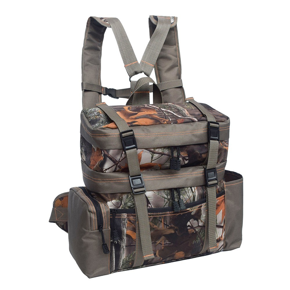 2-in-1 Outdoor Hunting Vest Pack Backpack