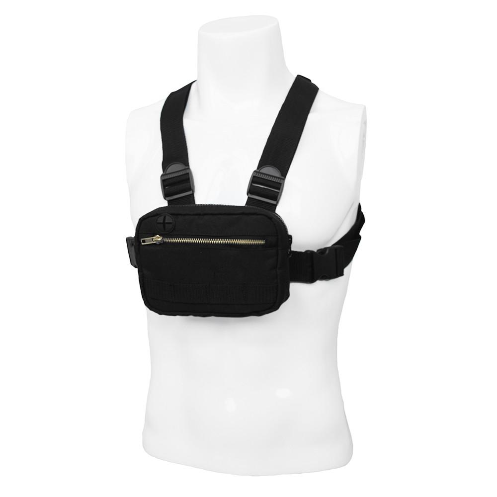 Multifunctional Chest Rig Shoulder Bag Pack Mobile Phone Holder Bag Case Outdoor Running Camping Hiking