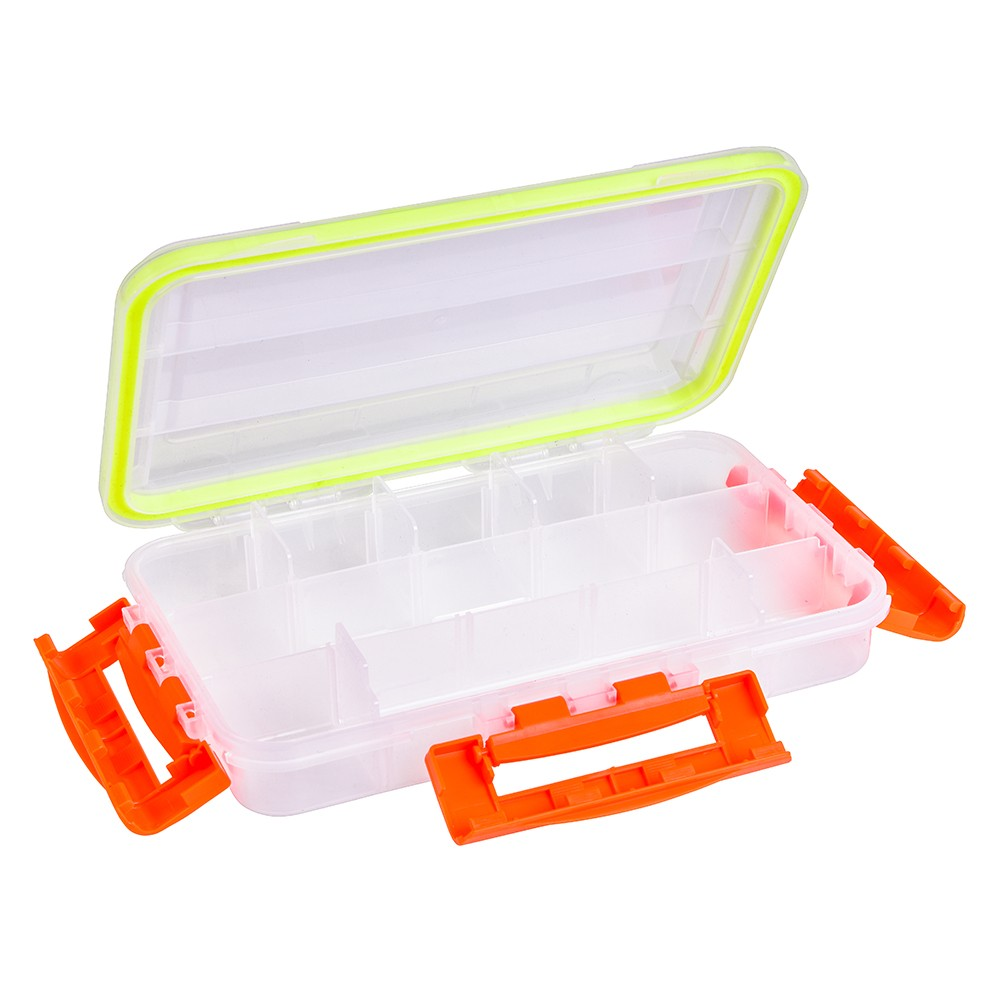 Transparent Visible Clear Fishing Lure Box Fishing Bait Hooks Tackle Accessory Storage Box Case Container