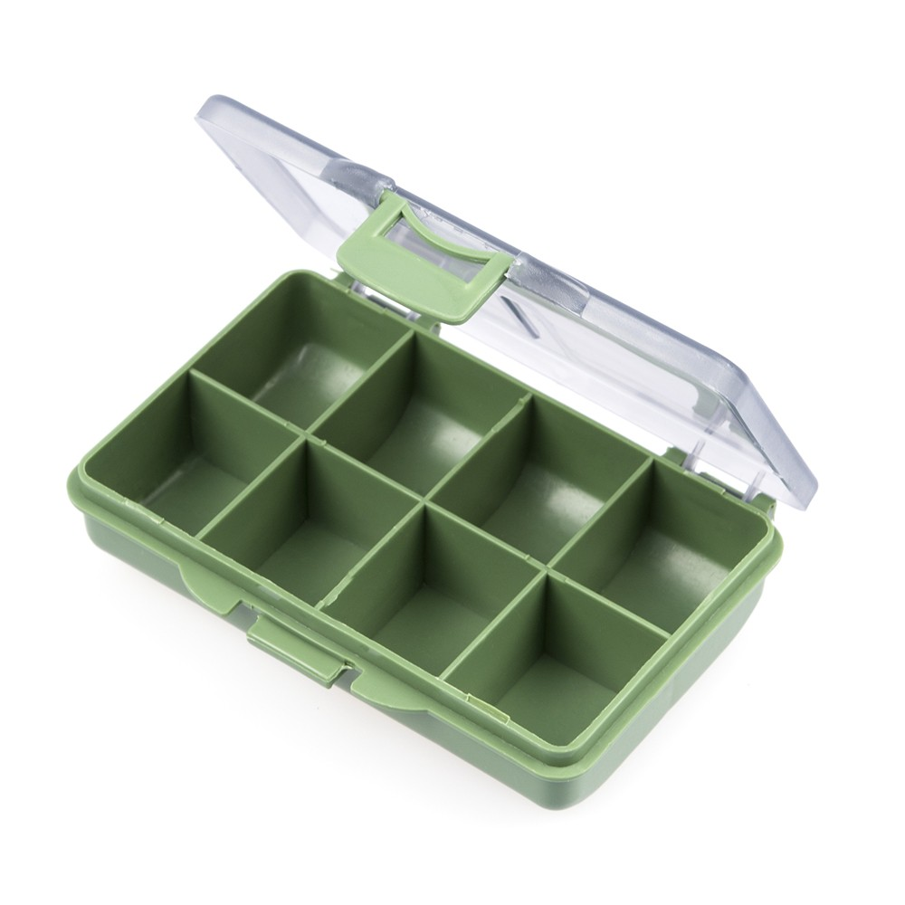 8 Compartments Fishing Tackles Box Tackle Storage Box for Fishing Accessories