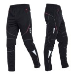 Men's Windproof Thermal Fleece Cycling Pants