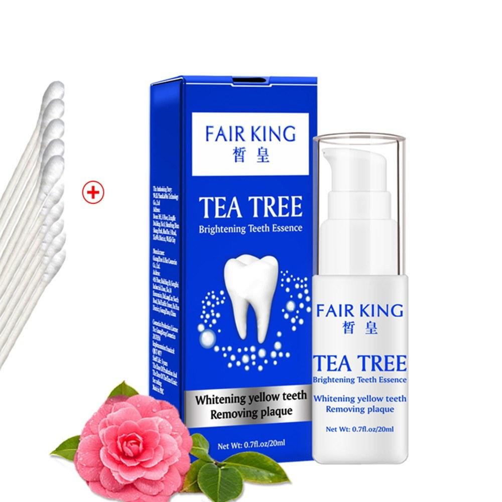 20ml Tea Tree Extract Brightening Whitening Teeth Essence Remove Plaque
