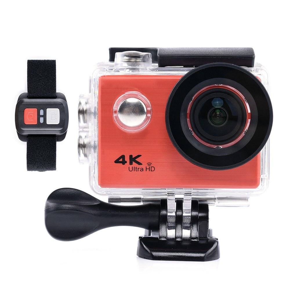 F71R Action Camera Digital 4K WiFi 1080P HD Sports DV 30M Waterproof Diving Wide Angle Lens