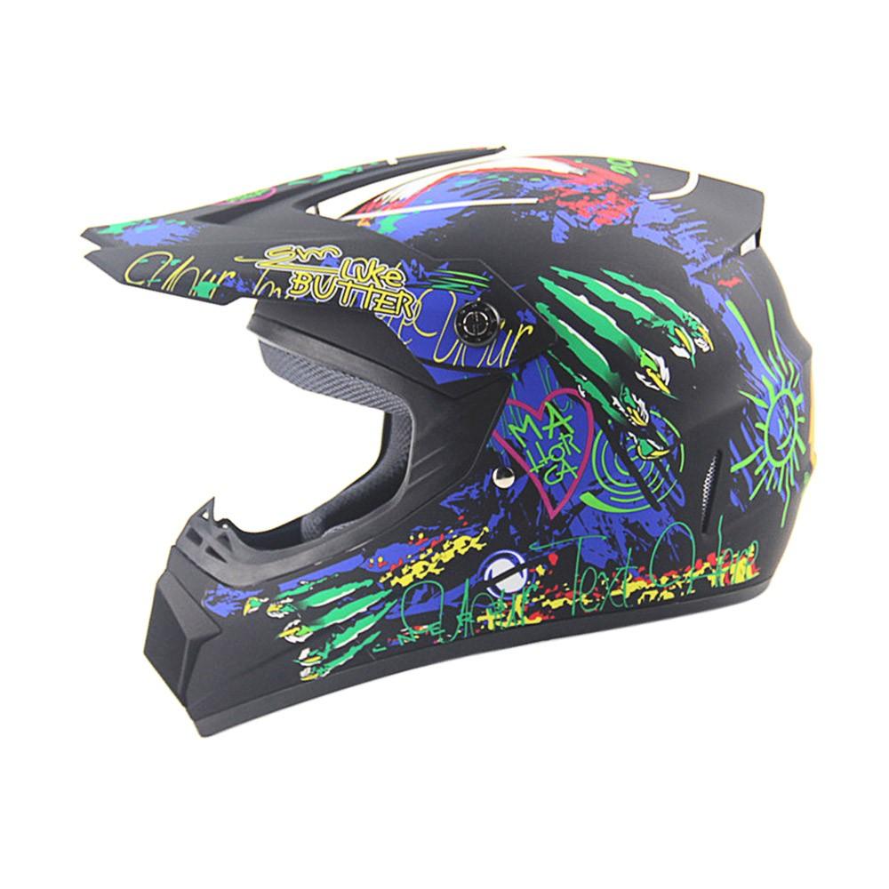 Off Road Casco Motorcycle & Moto Dirt Bike Motocross Racing Helmet