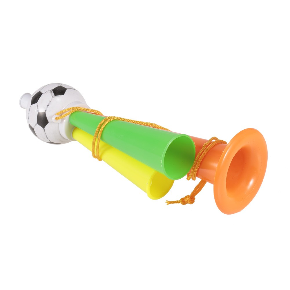 1Pcs Plastic Trumpet Toy with Portable String Cheer Up Horn for Sporting Events and Party Atmosphere Making - Large
