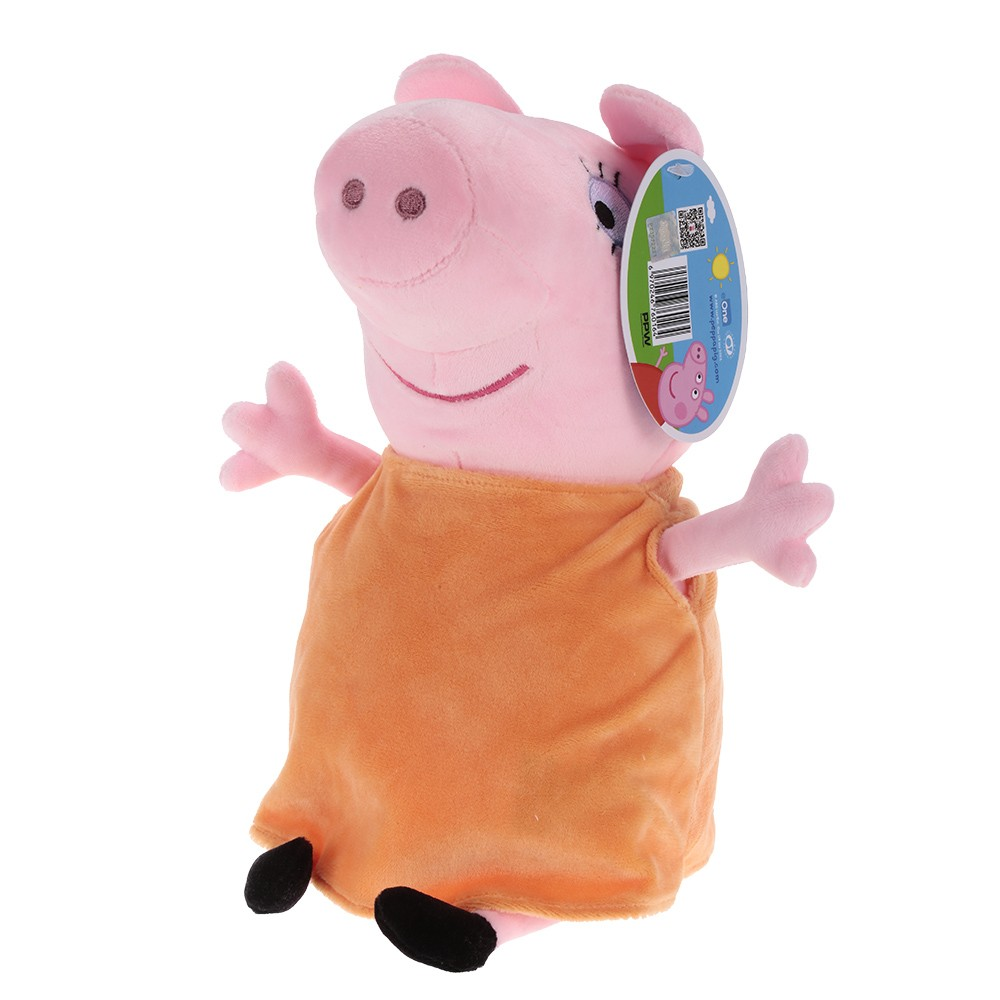 Original Brand Peppa Pig 30cm Mom Stuffed Plush Toy Family Party Doll Christmas New Year Gift for Kids