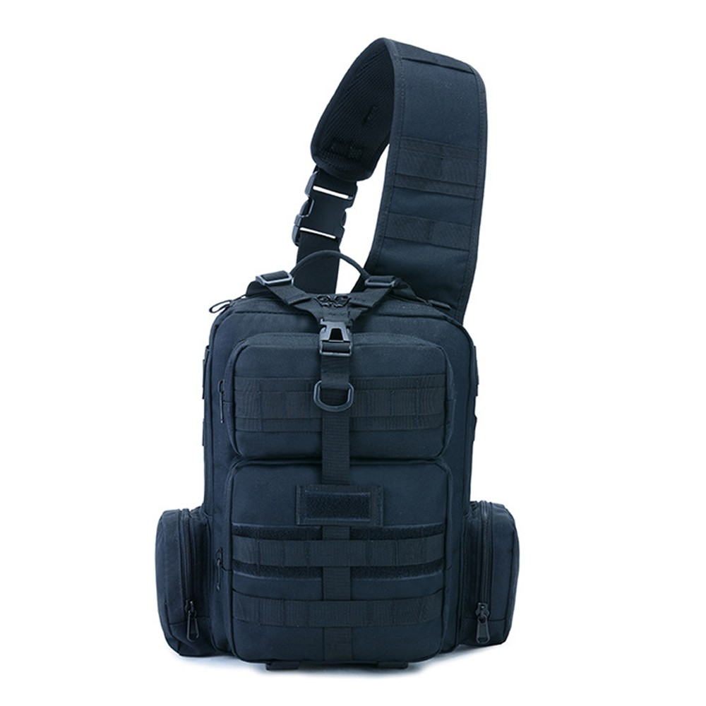 Tactics Pack Sling Backpack Army Molle Waterproof EDC Rucksack Bag