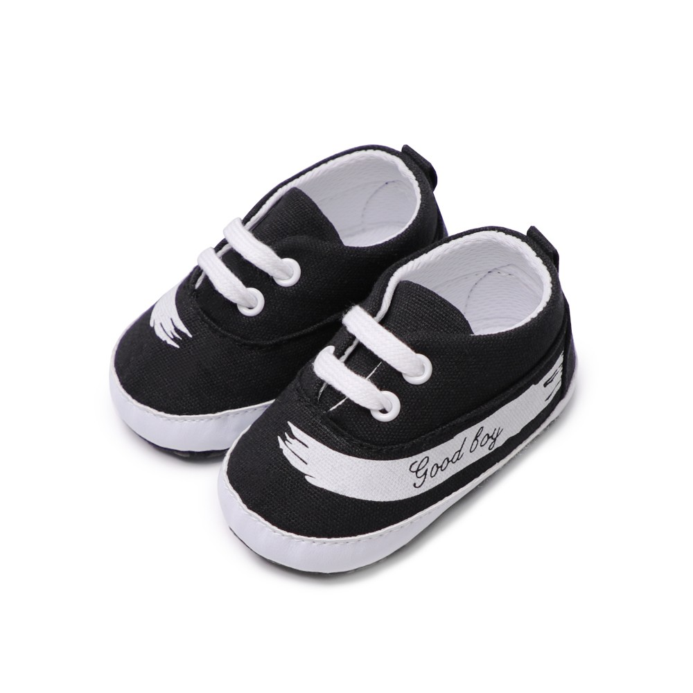 Infant Toddler Baby Casual Shoes Cotton Soft Sole Non-Slip Sneaker Prewalker Blue 4M