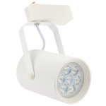 7W LED Track Rail Light Spotlight Adjustable for Mall Exhibition Office Use AC85- 265V