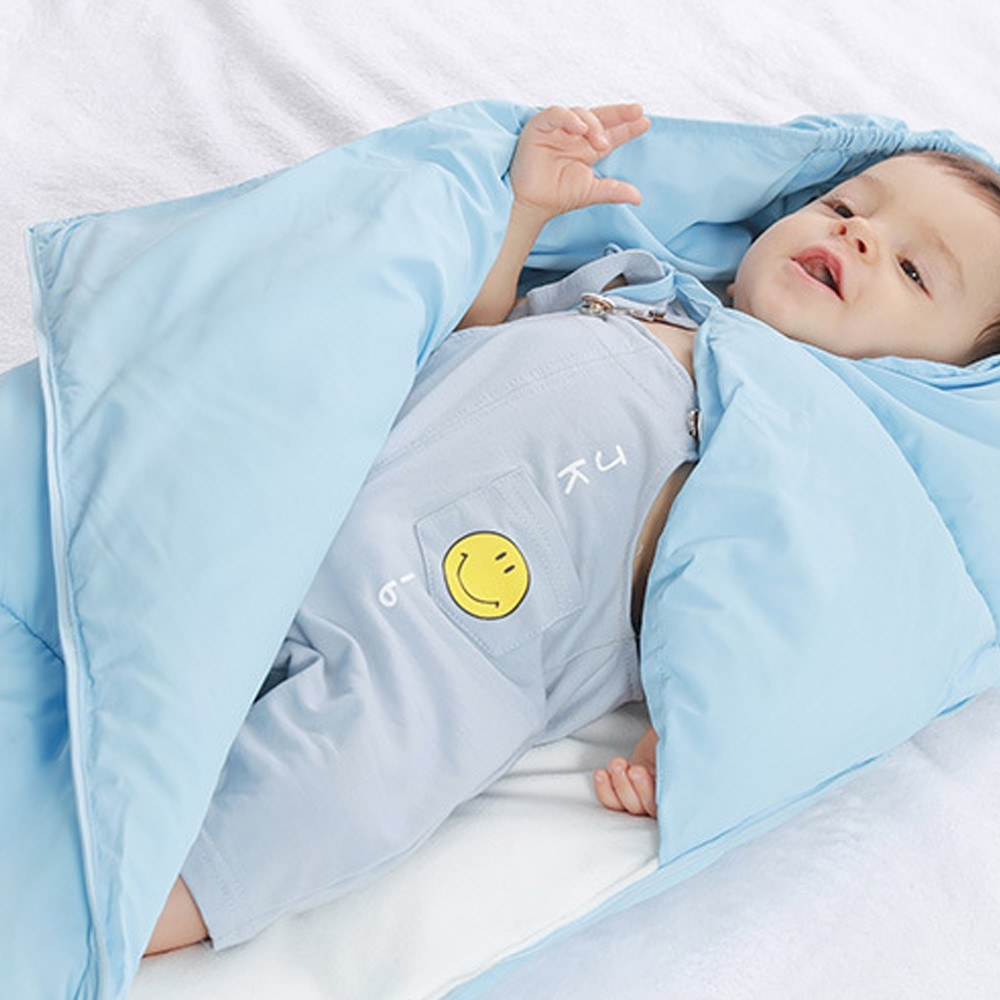 Autumn Winter Warm Baby Sleeping Bags Newborn Babies Cute Brushed Thicken Cotton Sleeping Bag Nursery Baby Swaddling Blanket Infant Toddler Blankets Swaddle Sleeping Bag