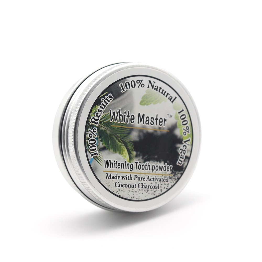 Activated Charcoal Whitening Tooth Powder Herbal Clean Toothpaste Teeth Care