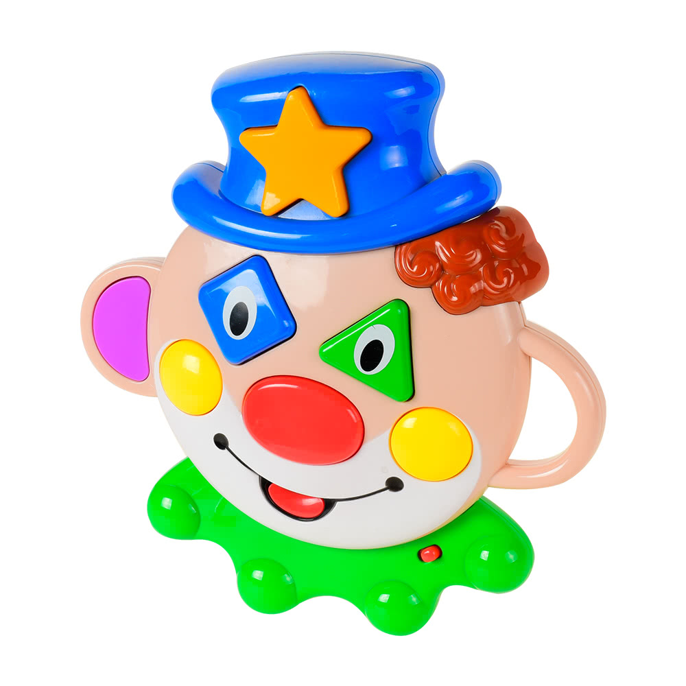Baoli Clown Mask Funny Clown Educational Toy Learning Machine for Kids