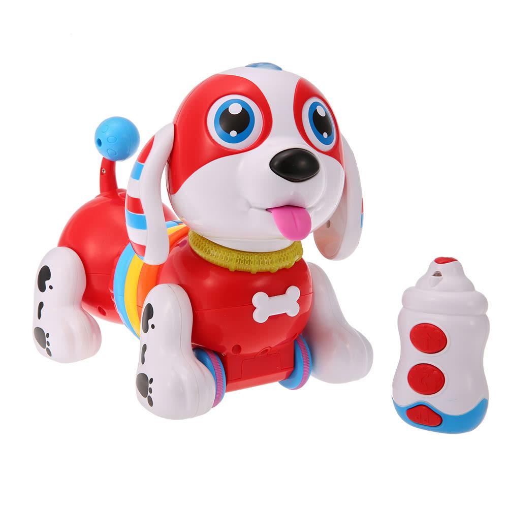 CANHUI TOYS BB396 IR RC Smart Sausage Dog Sing Dance Walking Robot Dog Electronic Pet Educational Kids Toy