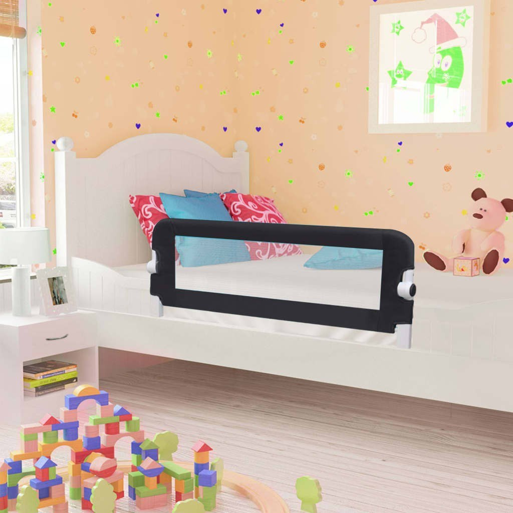 Shores Child Safety Bed Gray 102x42cm Polyester