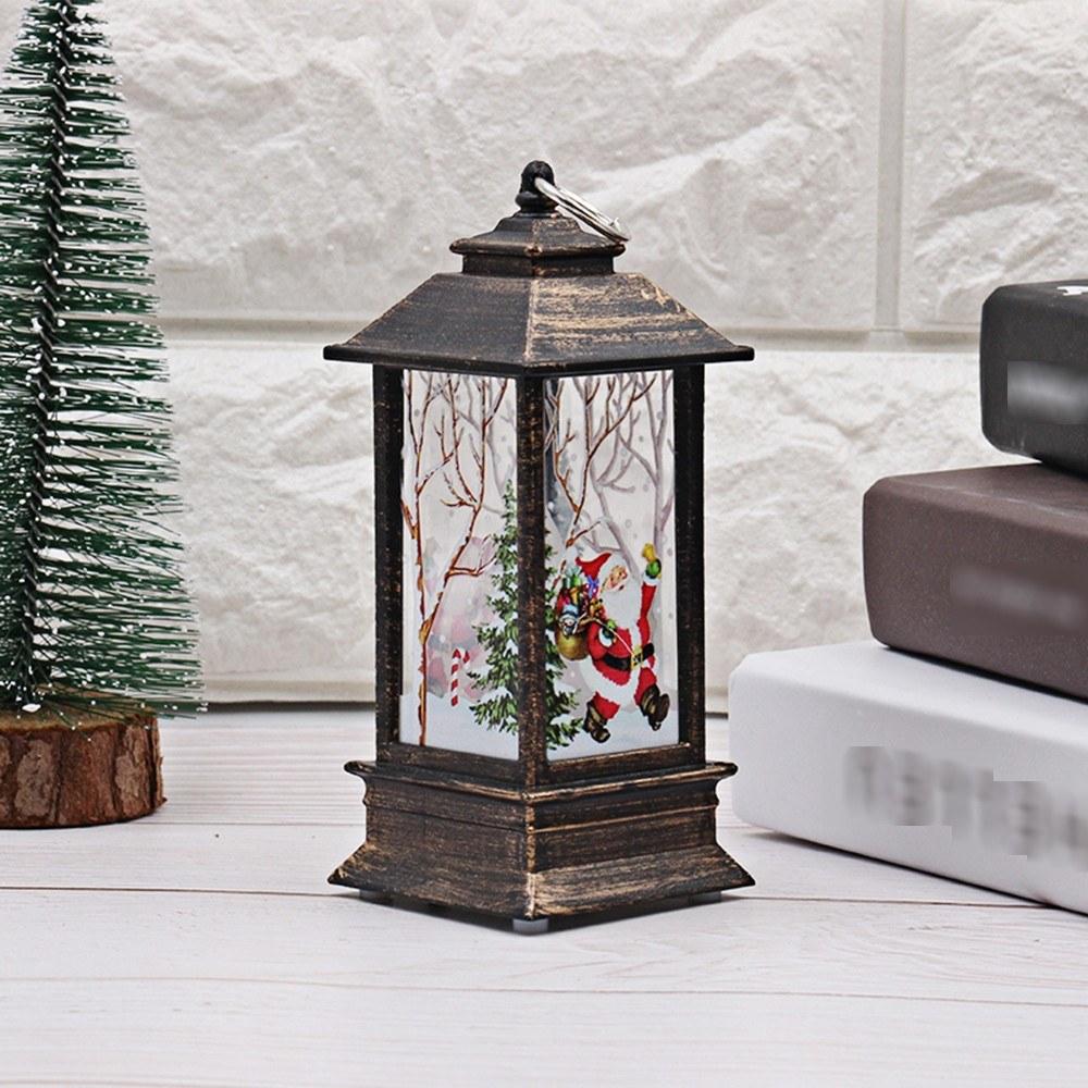 Christmas LED Night Light Desk Lamp Santa Claus Design Light