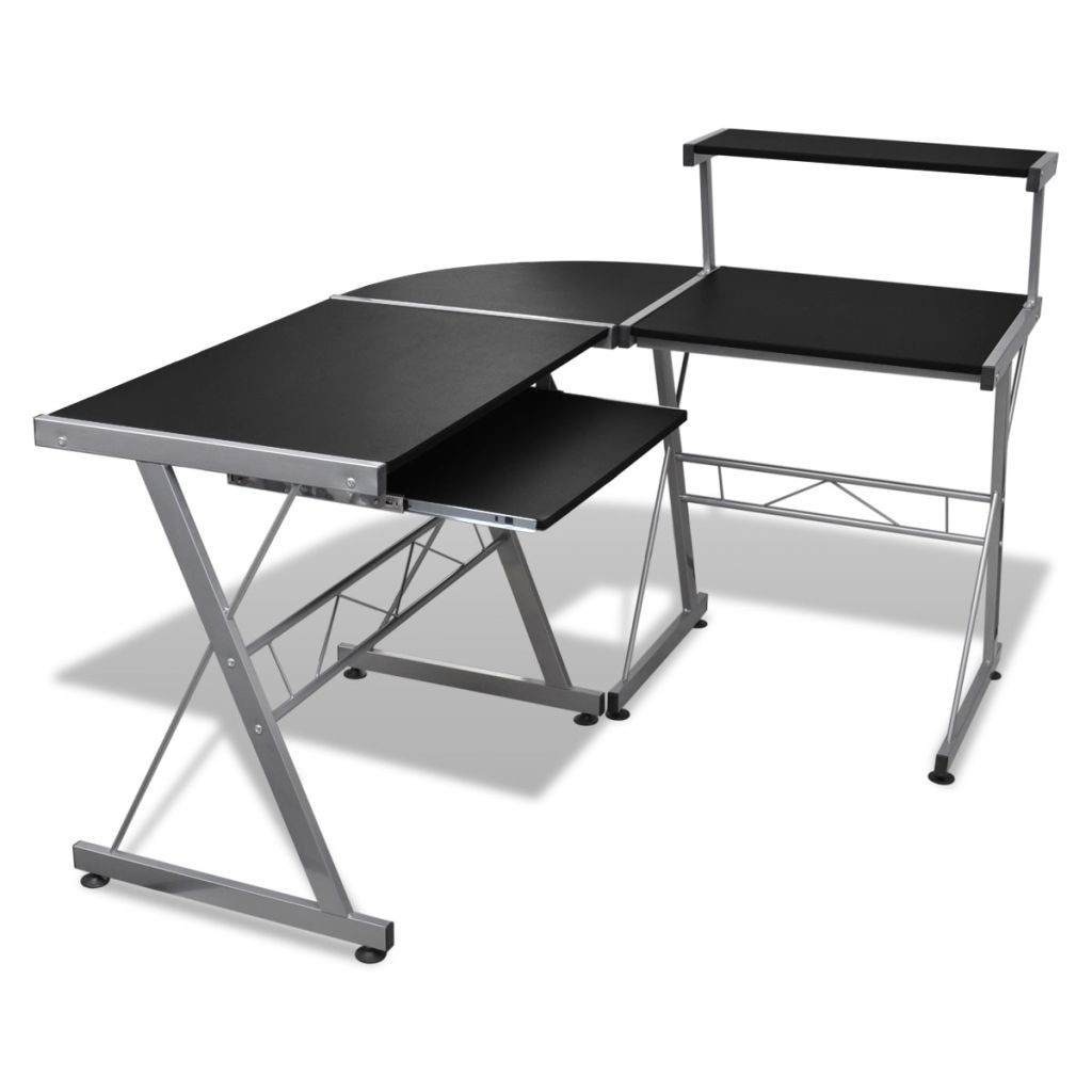 Computer desk desk work table corner table PC table Office black