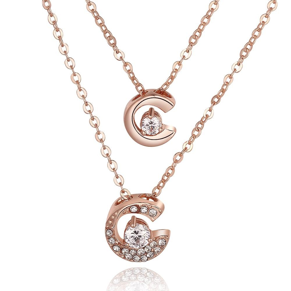 N805-B Wholesale Nickle Free Antiallergic 18K Real Gold Plated Necklace pendants New Fashion Jewelry