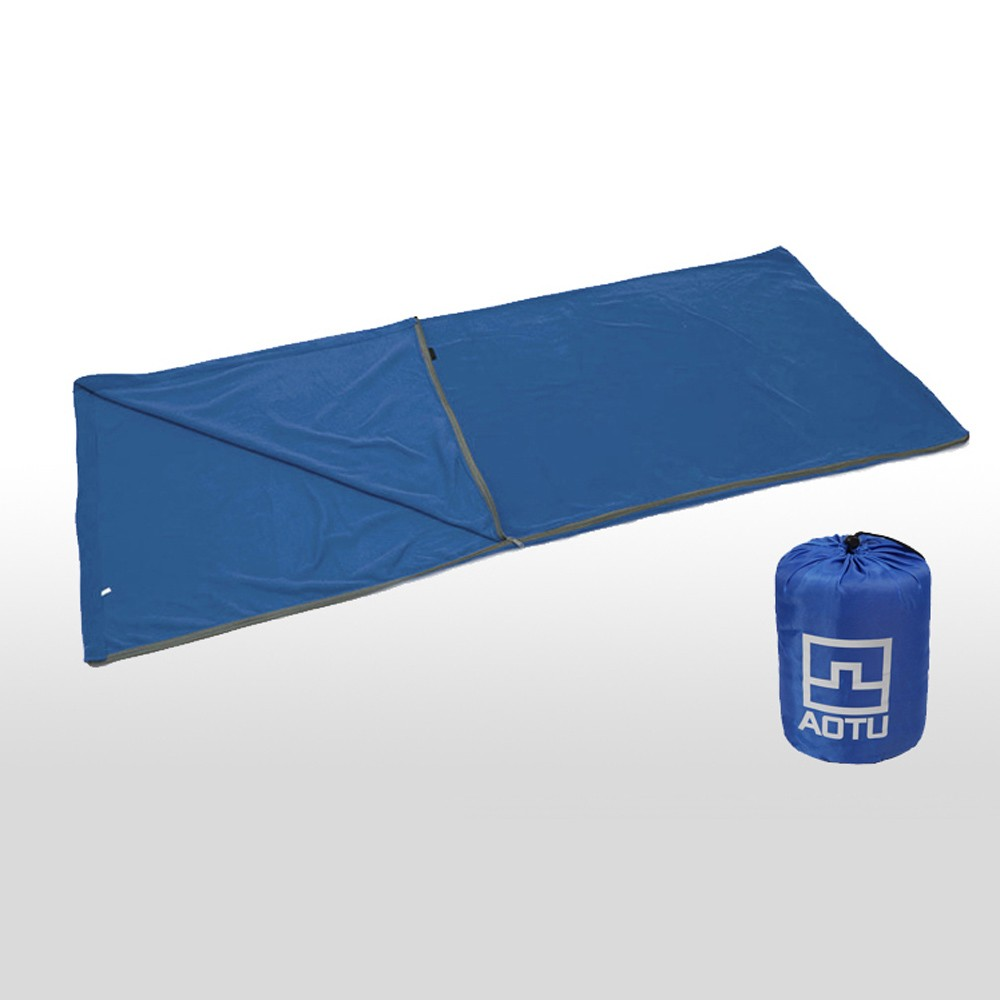 Outdoor Polar Fleece Sleeping Bag Camping Travel Hiking Multifuntion Ultra-light