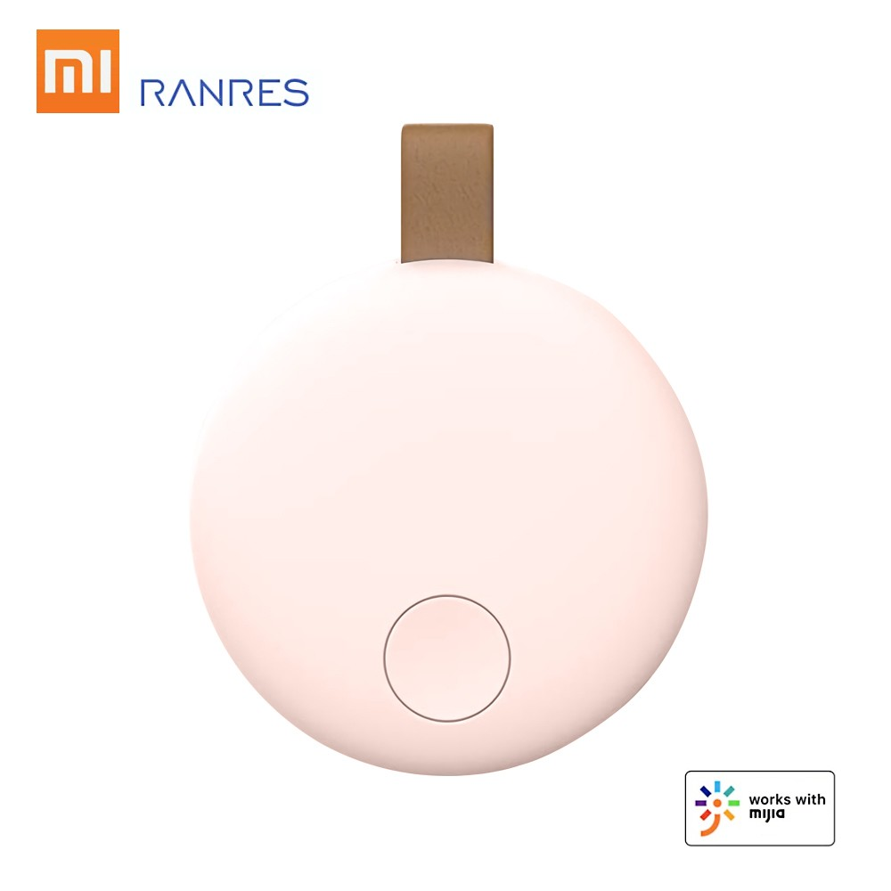 Xiaomi Ranres Smart Tracker Mini Finder Wireless Two-way BT Tag Tracker APP Tracking Reminder Anti-lost Alarm Positioning Finder for Child Key Wallet Package Phone