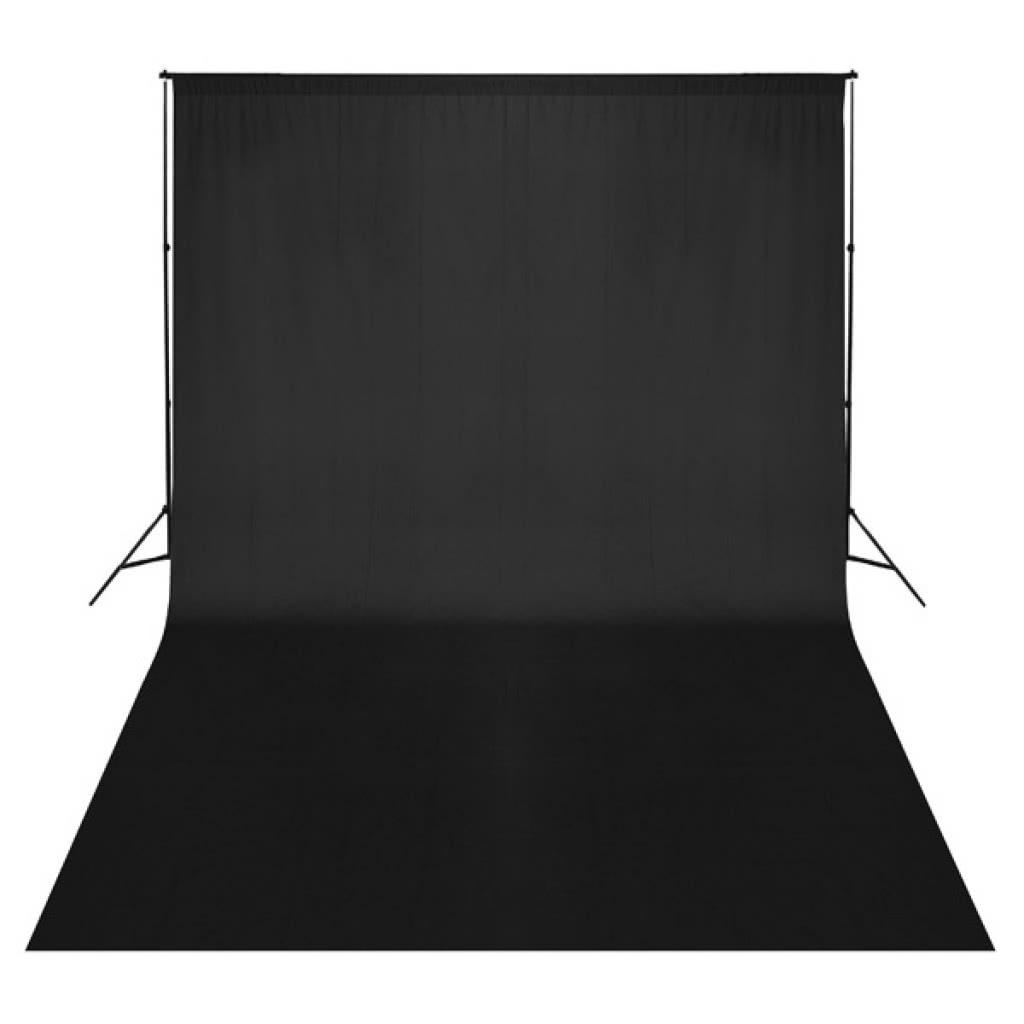 Backdrop Black 500 x 300 cm UK