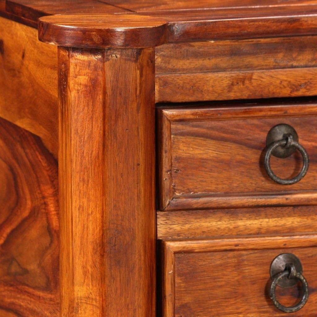 Writing table Solid wood Sesham 115 x 50 x 76 cm