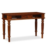 Writing Table Solid Sheesham Wood 120x50x76 cm