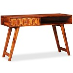 Desk solid wood Sheesham 118 x 50 x 76 cm