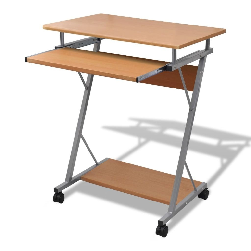 Brown Office Table for Computer
