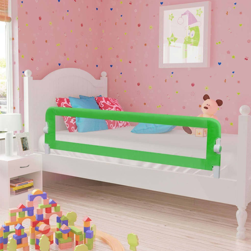 Shores Child Safety Bed Green 120x42cm Polyester
