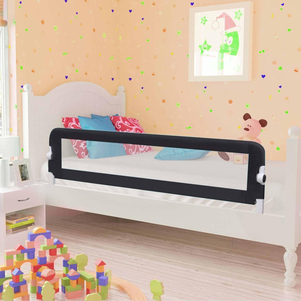 Shores Child Safety Bed Gray 150x42cm in Polyester