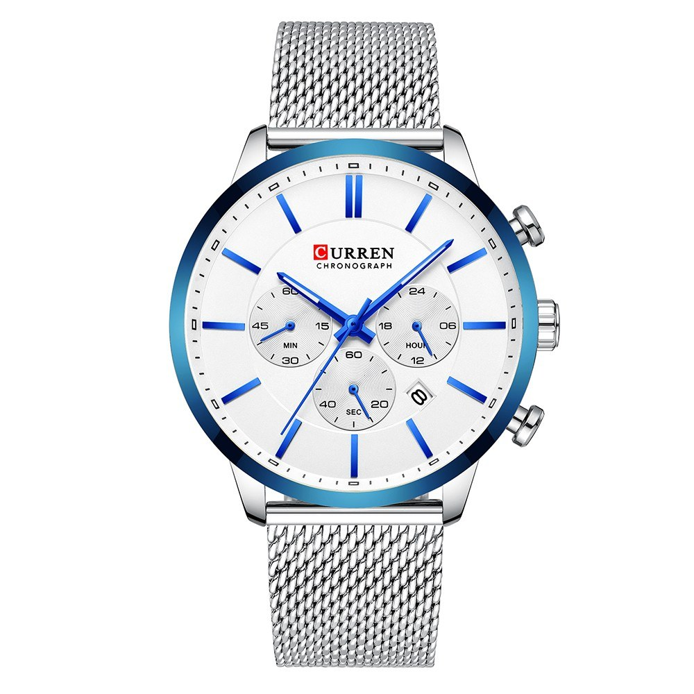 CURREN 8340 Man Watch Man Sport Watch Man Waterproof Outdoor Wristwatch Man Watch Man Chronograph Quartz Business Watch Male Watch for Men