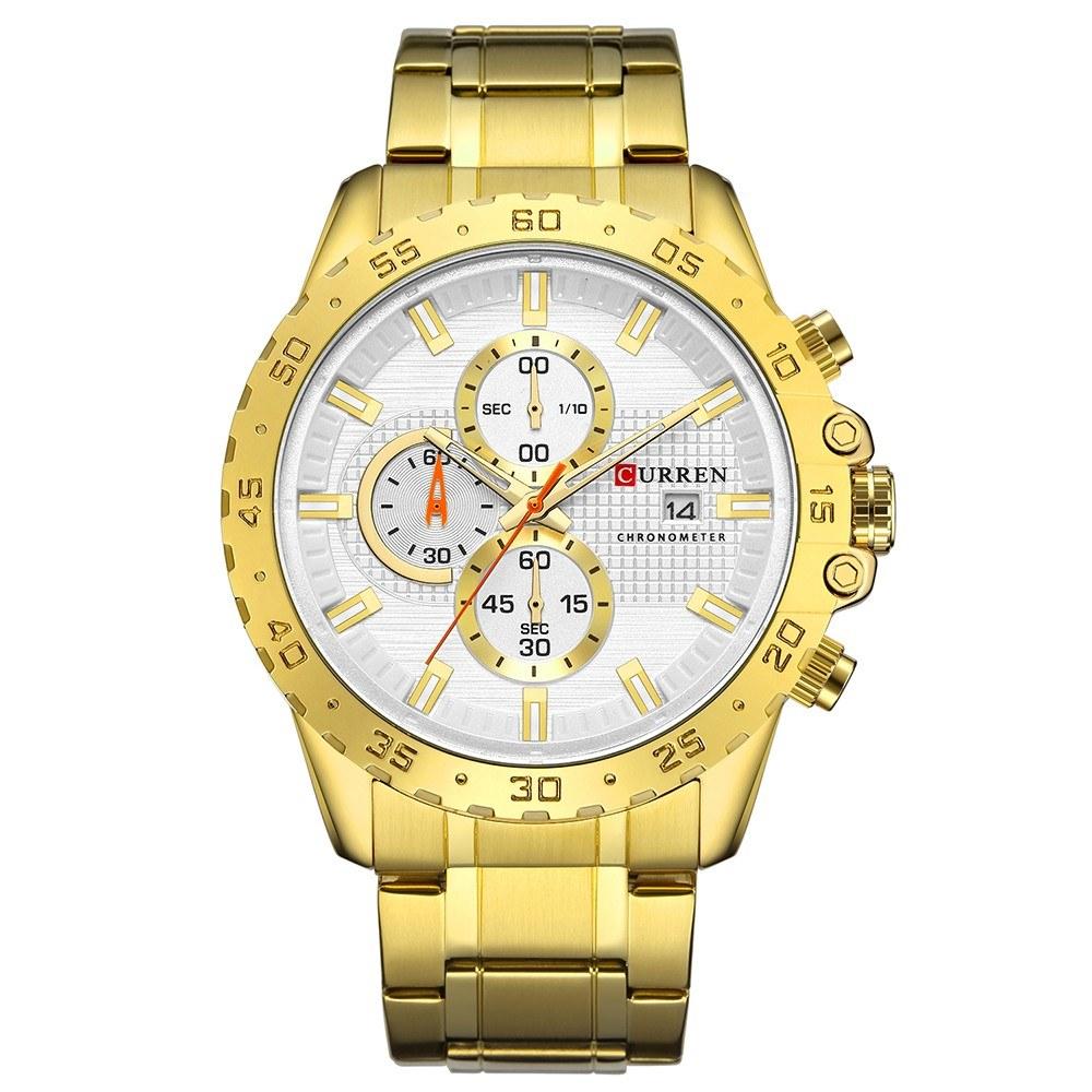 CURREN 8334 Man Watch Man Sport Watch Man Waterproof Outdoor Wristwatch Man Watch Man Quartz Business Watch Male Watch for Men