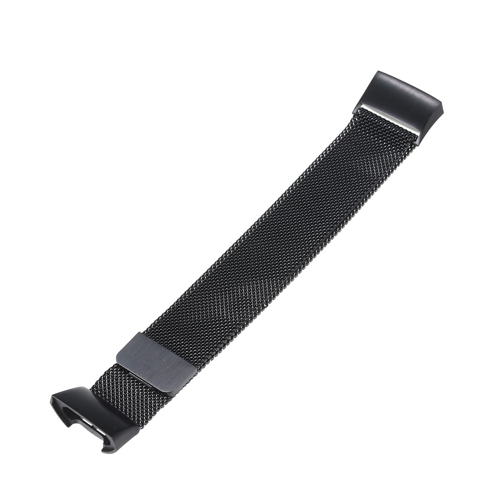 Men Women Stainless Steel Breathable Watch Band Metal Sport Replacement Accessories Wristband for Fitbit Charge 3 and Charge 3 SE
