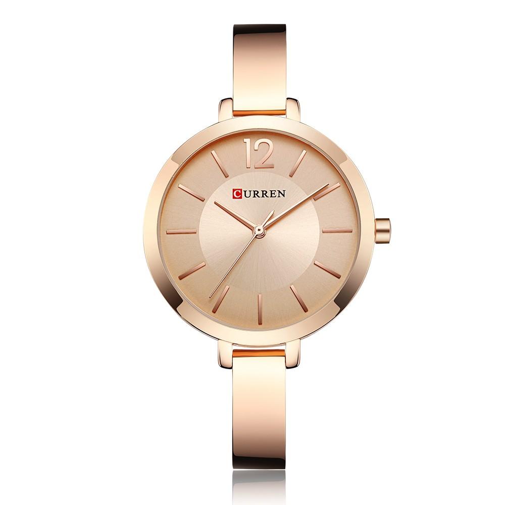 CURREN 9012 Women Watch Quartz Movement Wrist Watch Simple Causal Gift for Women