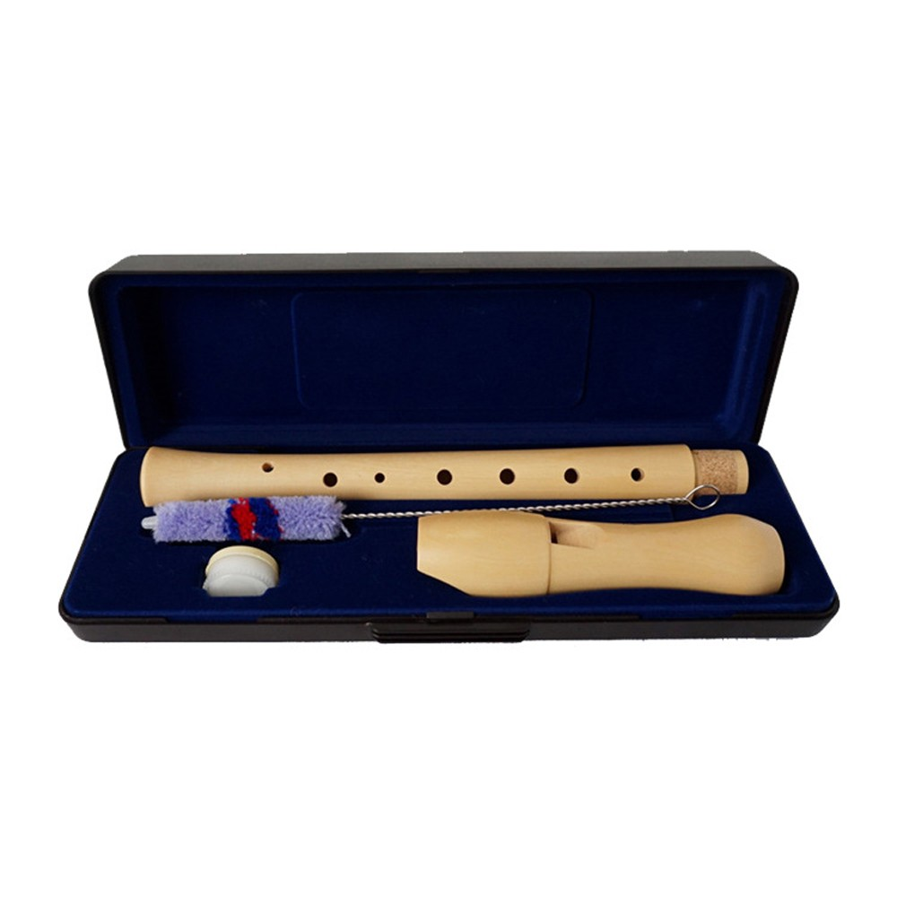 8 Holes Wooden Soprano Flute Woodwind Musical Instruments for Flutes Student Beginner Performance