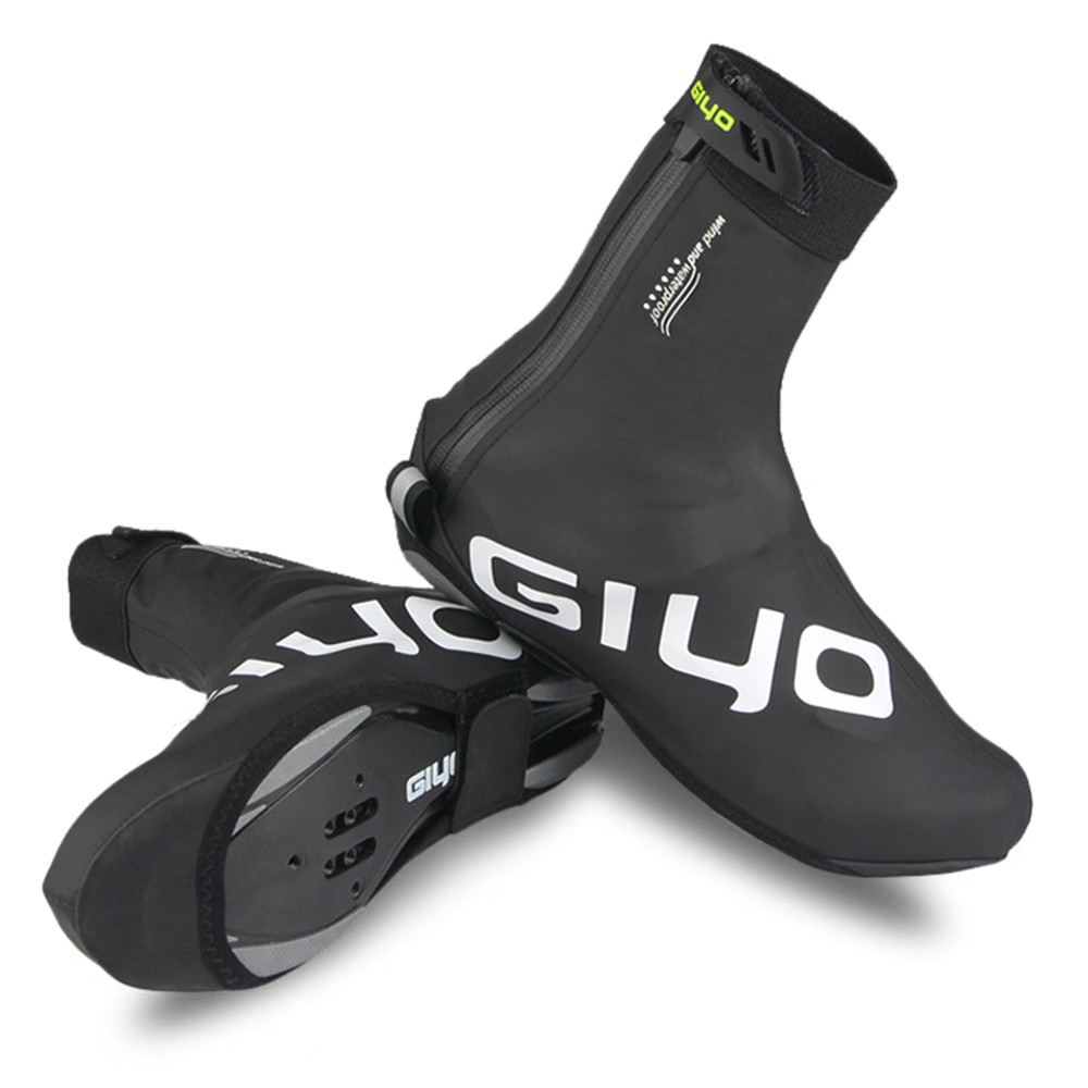 Winter Cycling Lock Shoes Cover MTB Road Bike Overshoes Waterproof Windproof Warm Fleece Cycling Shoes Covers Bike Shoes Protector