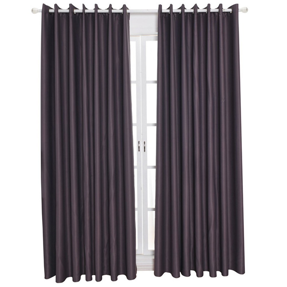 Blackout Curtains Thermal Insulating Room Darkening Curtains for Living Room 39