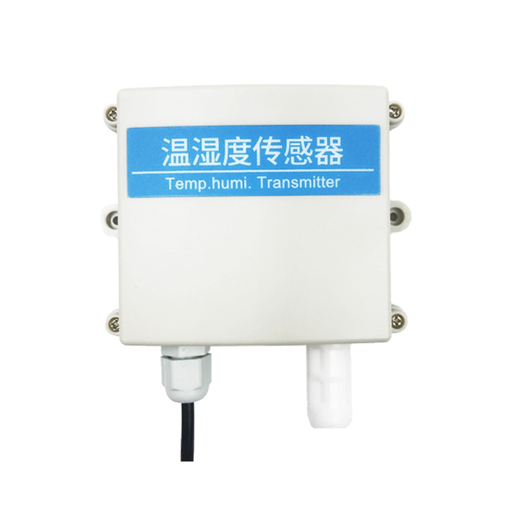 Multifunctional High Accuracy Temperature And Humidity Sensor Transmitter Waterproof Hardcover Probe Strong Anti-interference