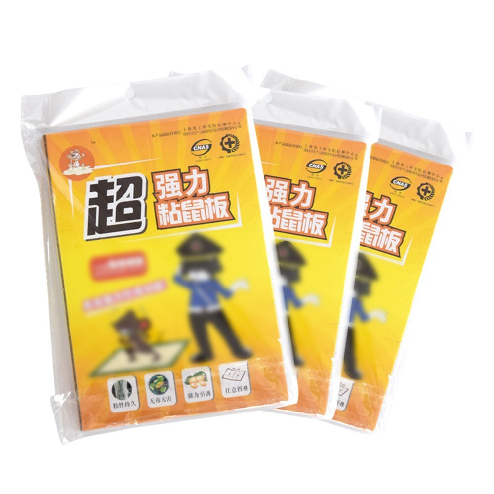 Disposable Non-Toxic Mouse & Rat Glue Trap Non-Poisonous Rodent Killer Trap Effective Safe Glue Boards Sticky Pest & Insect Glue Pads