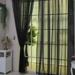 Wedding Banquet Door Window Colorful Curtain Romantic Pure Color Glass Yarn Flimsy Drape Sheer Scarf Valances Curtains