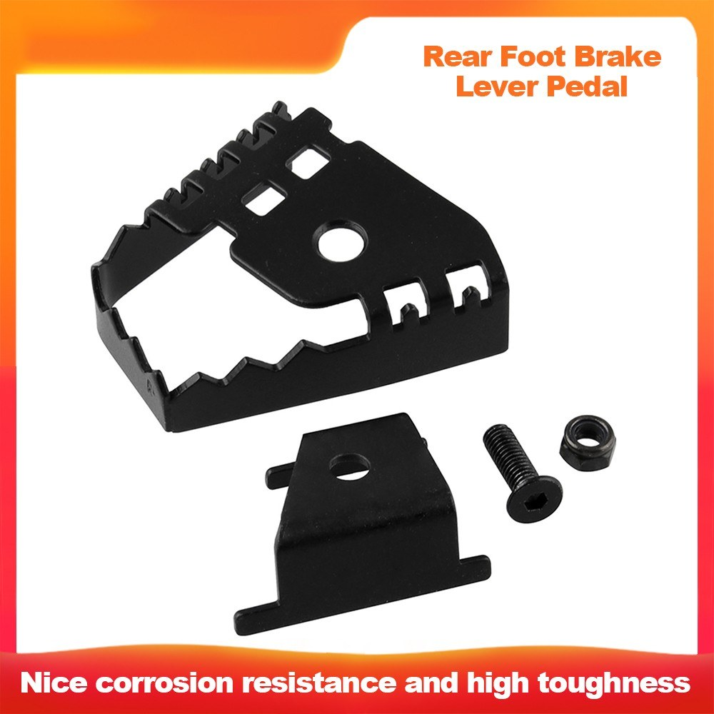 Rear Foot Brake Lever Pedal Rear Brake Pad Extender for BMW F800GS F700GS F650GS R1150GS R1200GS F 800/700/6