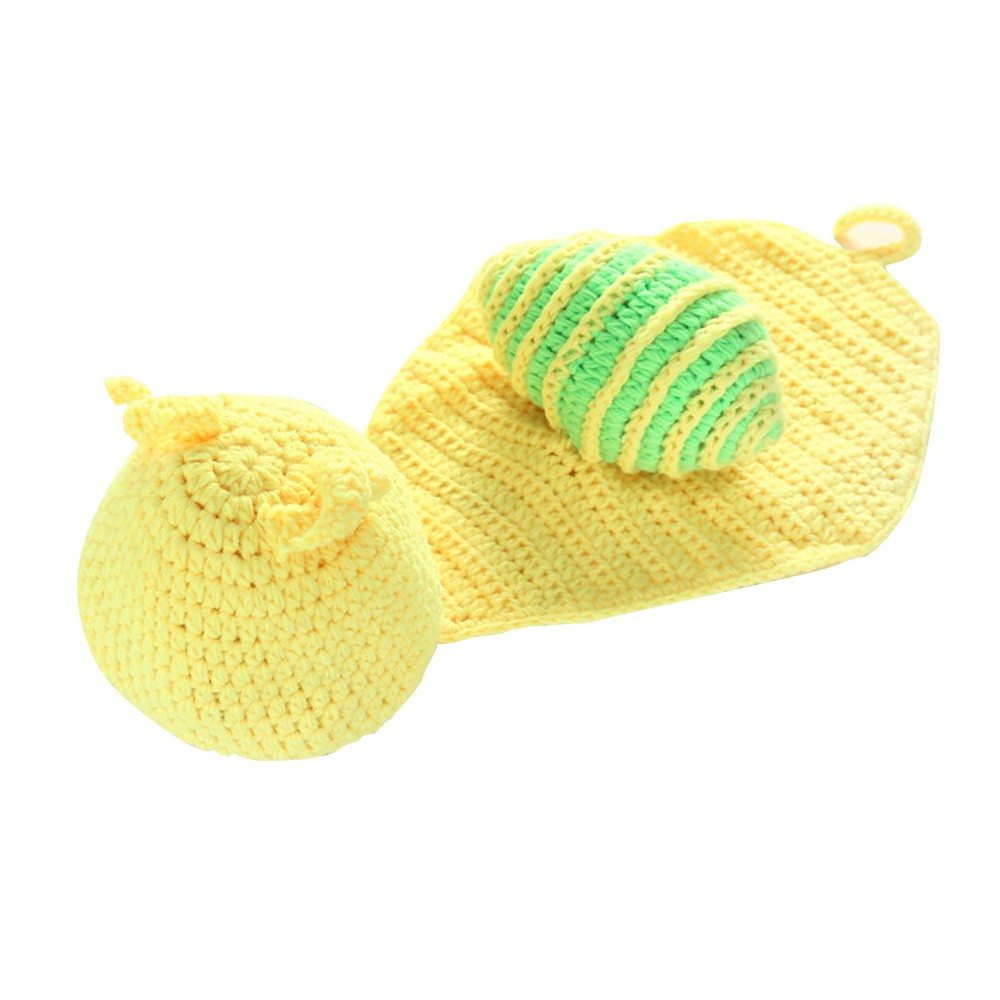 Newborn Baby Photography Props Girl Boy Cute Snail Costume Outfits Photo Shoot Prop Accessories Green