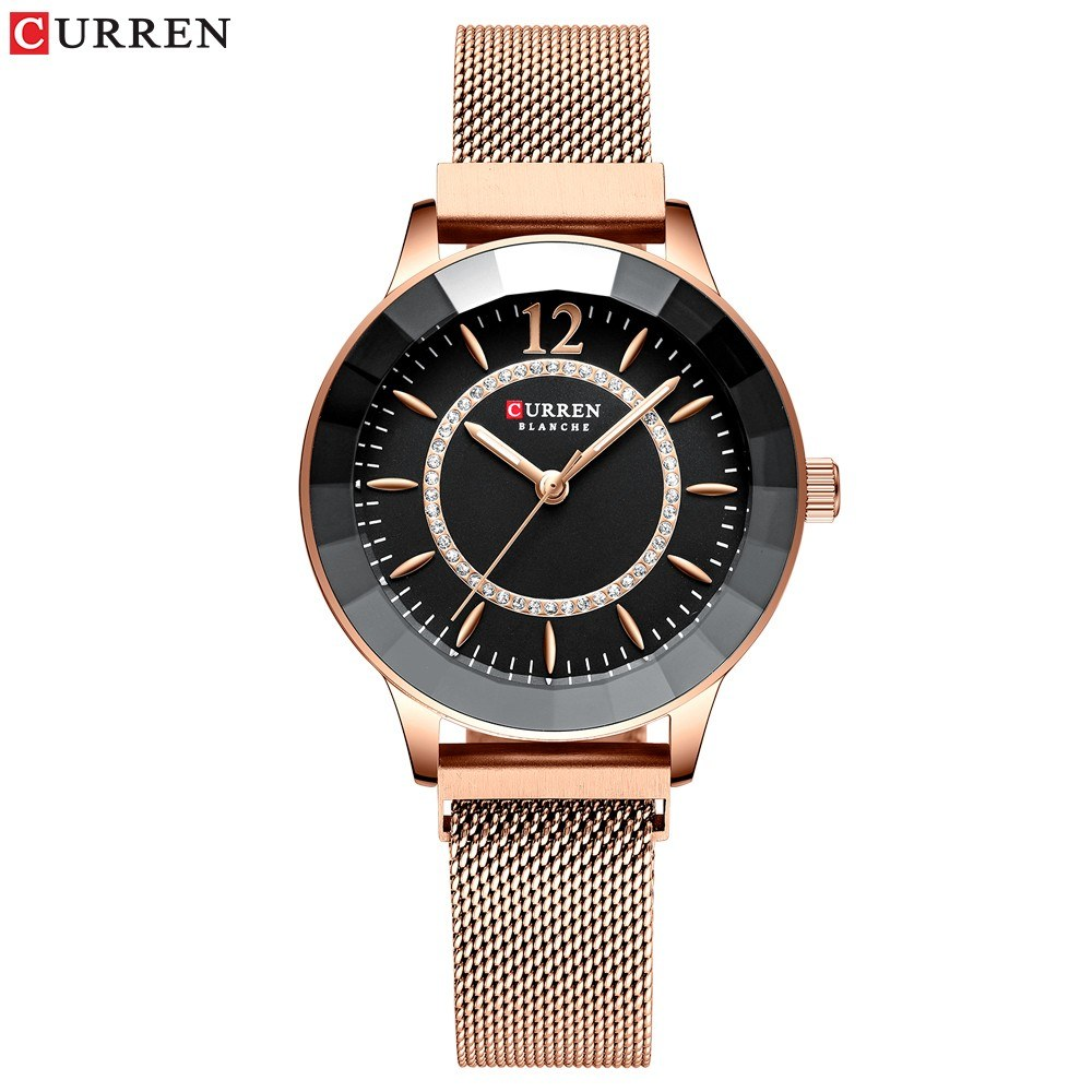 Curren Women Watch Fahion Multifuntional Waterproof Watches Quartz Watch