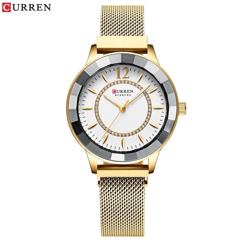 Curren Women Watch Fahion Multifuntional Waterproof Watches Quartz Watch