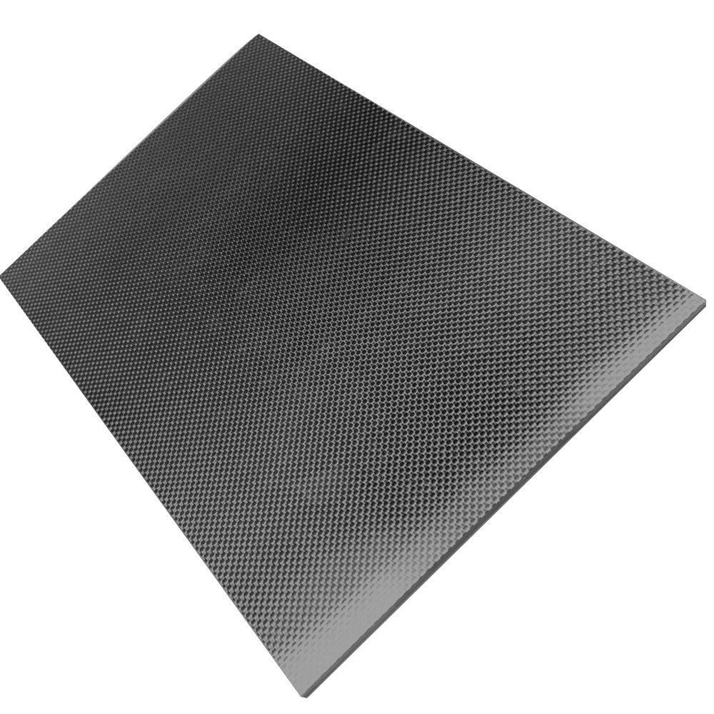 3K Carbon Fiber Plate Panel Plain Twill Weave Matt Glossy Surface Full Carbon Fiber Plate Panel Sheet