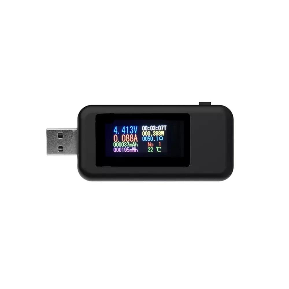 KWS-MX18 10 in1 Digital LCD Display USB Tester Voltage Current Tester Power Meter Timing Ammeter USB Charger Tester Detector Voltmeter